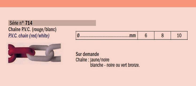 Chaine -PVC-