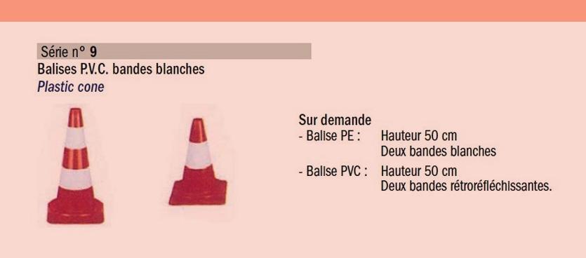 Balise PVC